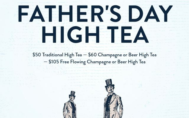 Father's Day High Tea 1